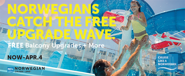Free Balcony Upgrades & More with NCL