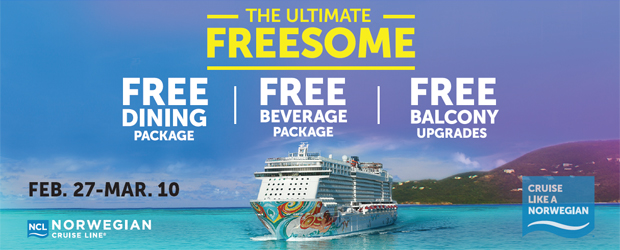 Free Dining Packages on NCL's Newest Ships